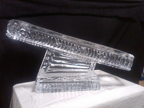 Ice Matters Half Block Luge $100 cash at pick up